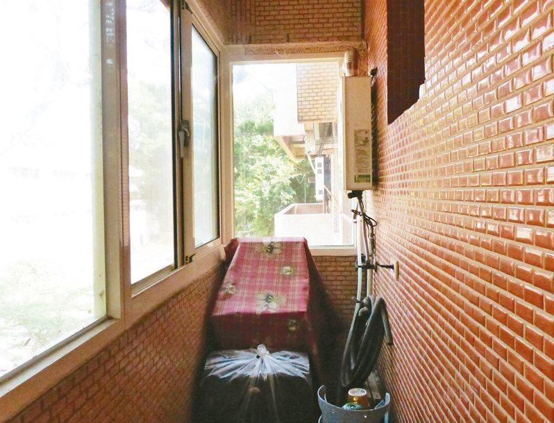 熱水器若要裝在封閉的陽台,一定要有強制排氣裝置。 圖/聯合報系資料照片