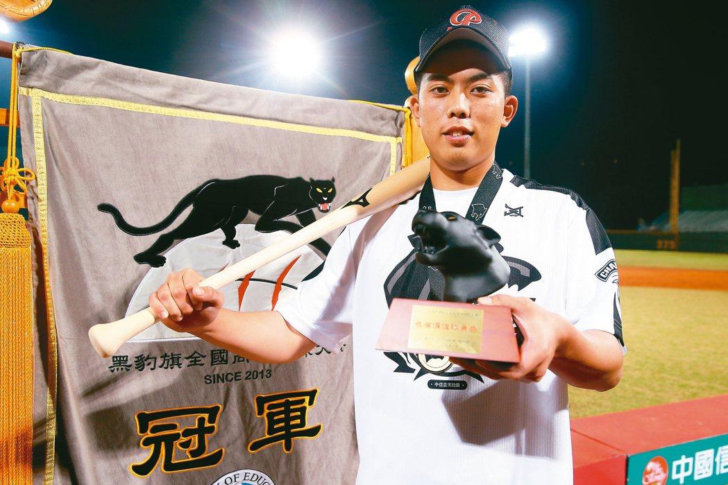 吳秉恩拿下賽事MVP。 記者余承翰/攝影