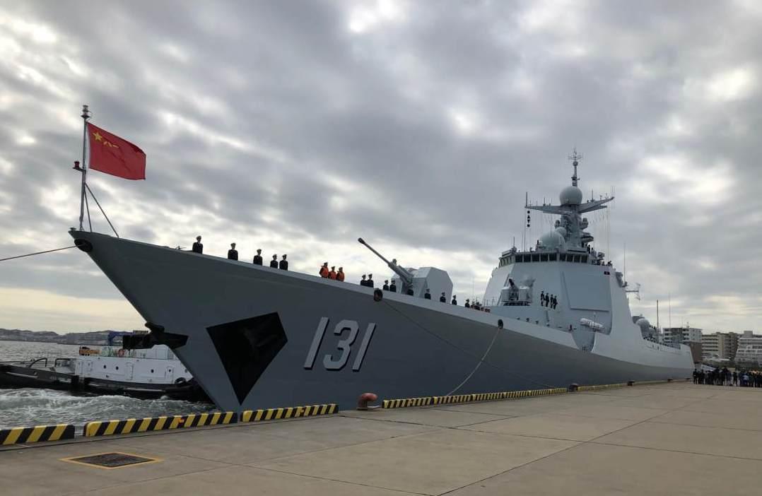 今年10月,中共太原艦應邀參加日本國際閱艦式。這是中共海軍艦艇時隔10年再次訪日...