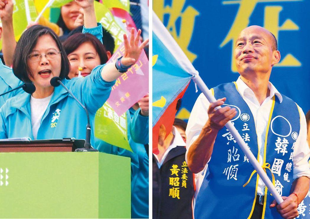 本屆總統大選掀起一波民調大戰,民眾無所適從。圖/記者劉學聖攝影、中央社