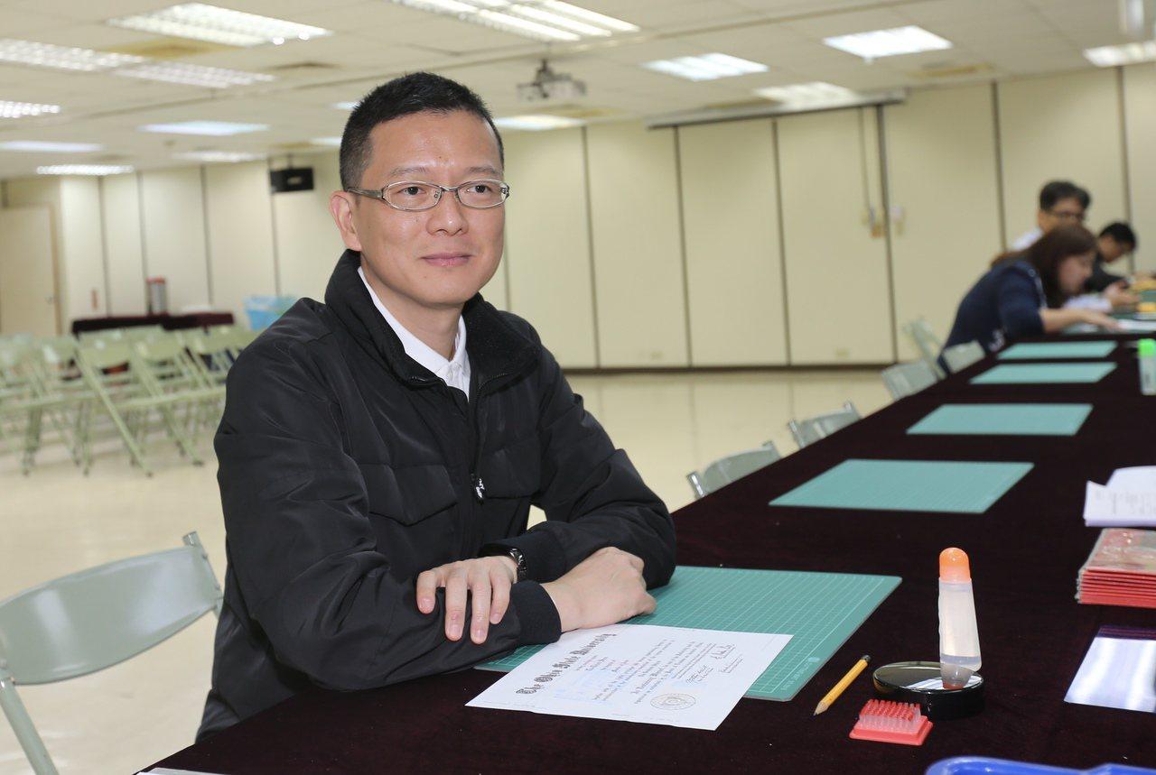韓辦副執行長孫大千。 聯合報系資料照/記者許正宏攝影