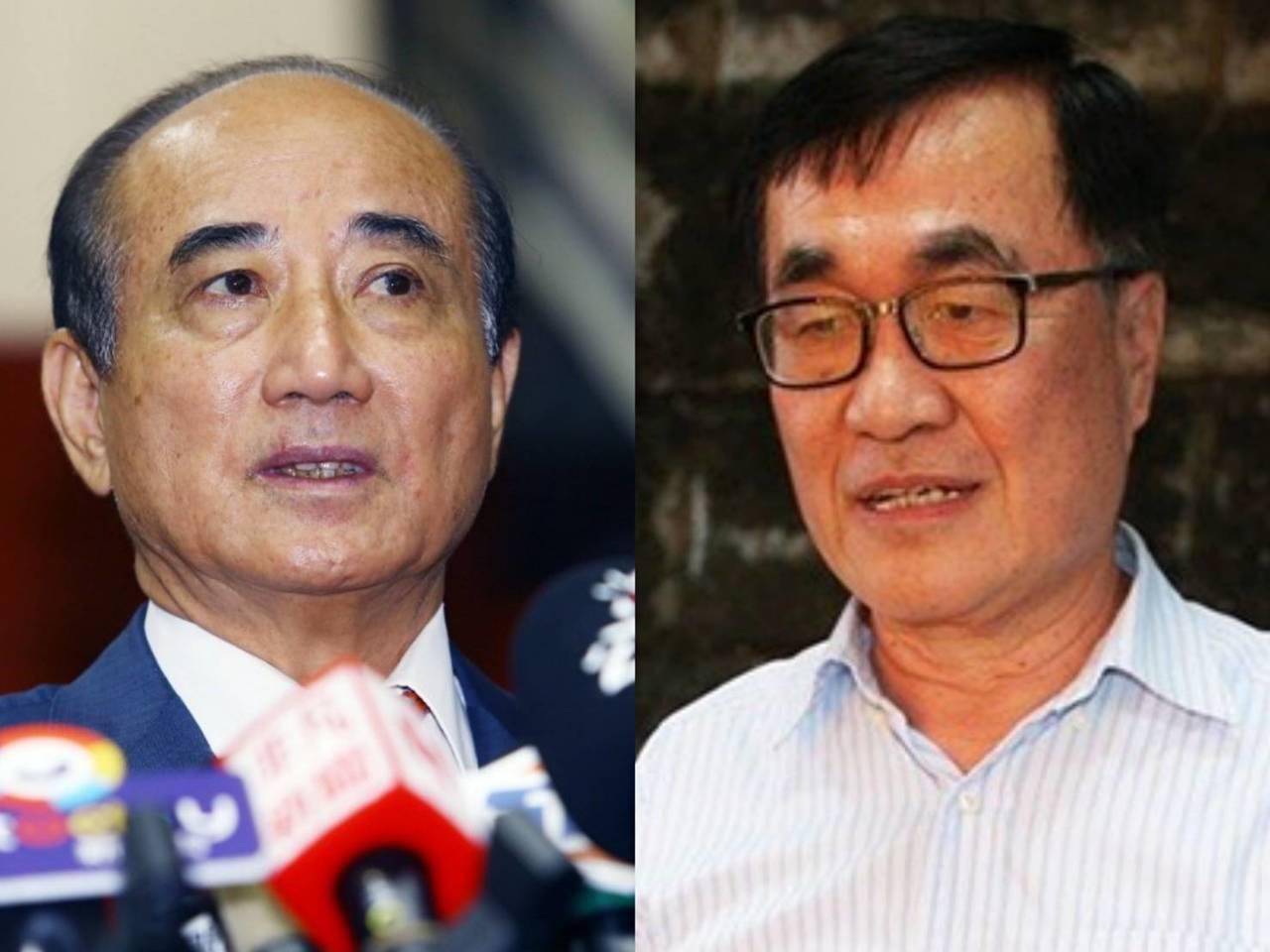 高雄市副市長李四川(右)與國民黨立委王金平會面。 圖/聯合報系資料照片合成