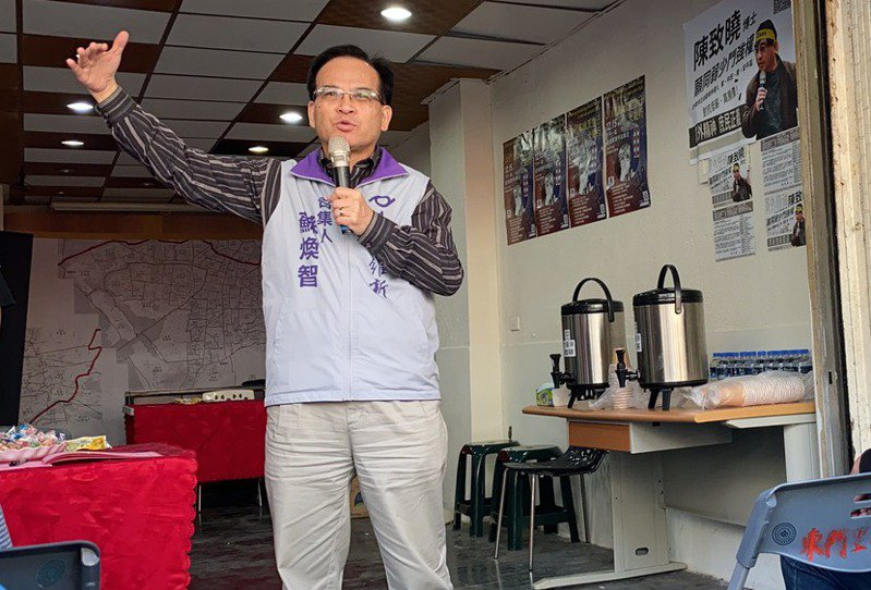 台灣維新召集人蘇煥智。 聯合報系資料照/記者鄭維真攝影