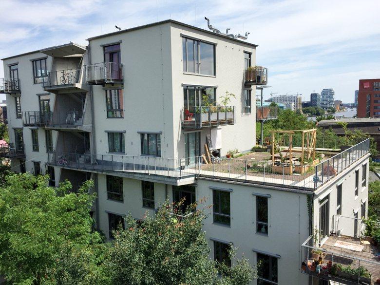 德國柏林的River Spreefeld,是德國近年相當成功的合作住宅。 圖/劉...
