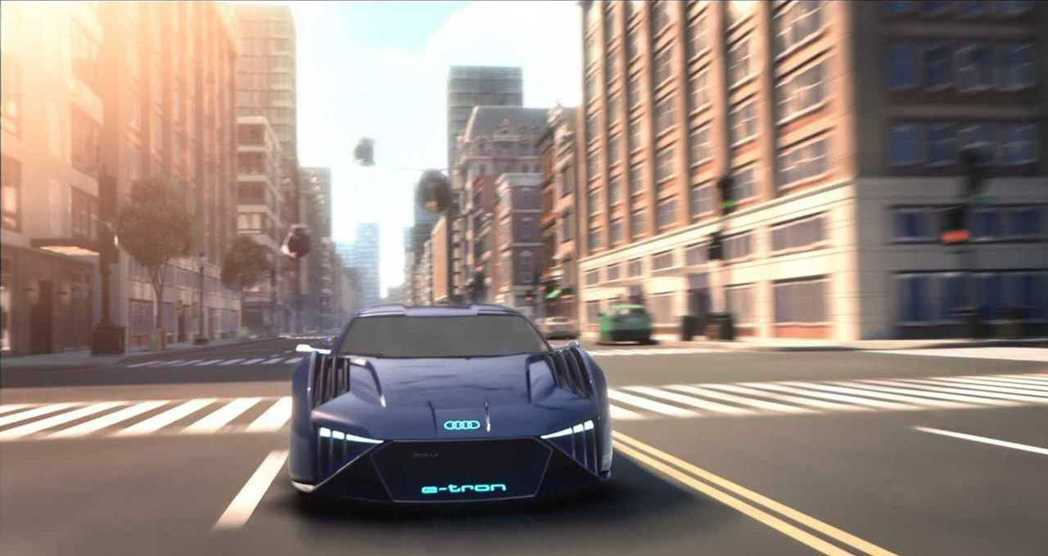 Audi RSQ e-tron。 摘自Audi