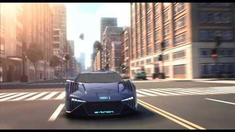 影/繼漫威之後Audi再度加入好萊塢!RSQ e-tron於《變身特務》動畫電影登場