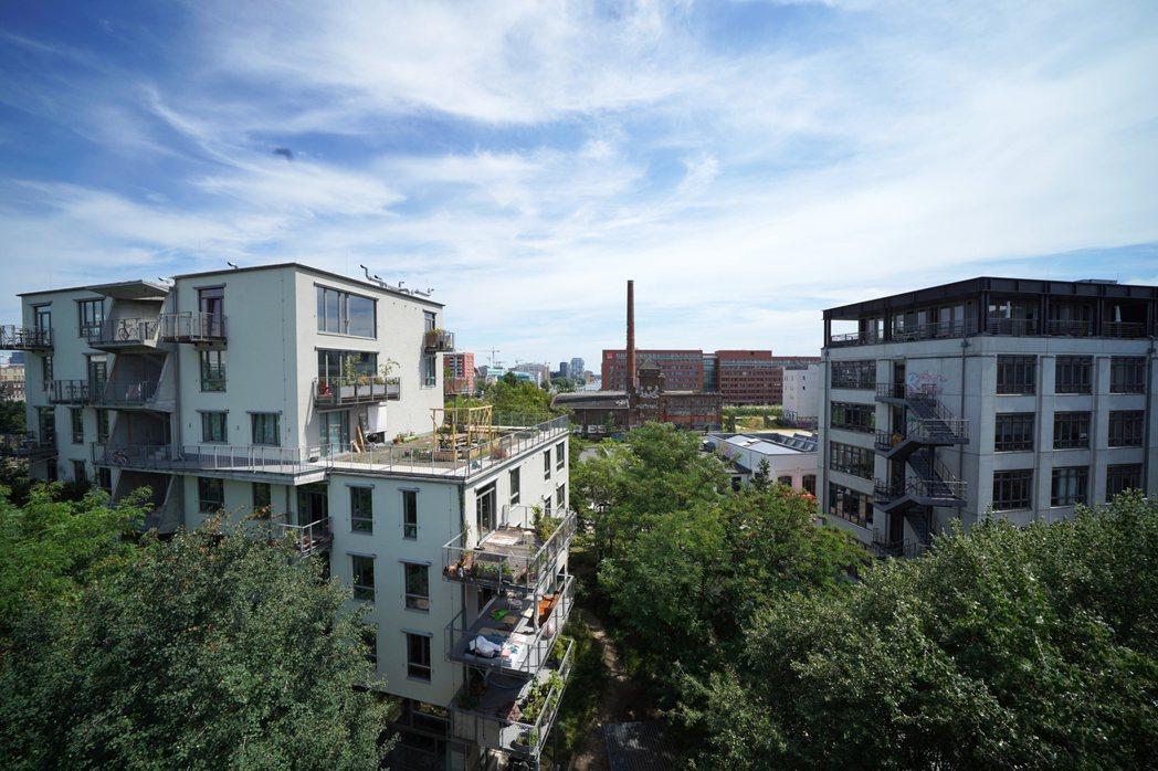 德國柏林的River Spreefeld,是德國近年相當成功的合作住宅。 圖/OURs提供