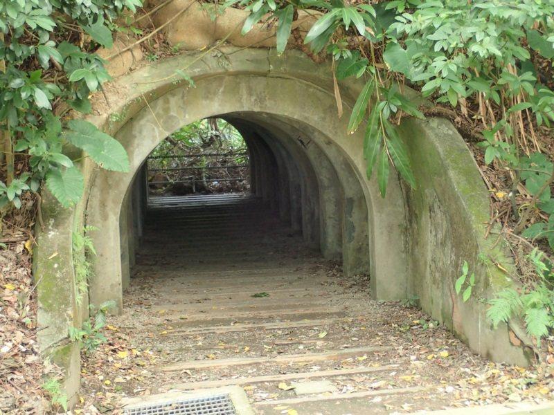 「福州山-中埔山步道」的福州山腳下富陽公園,早期為軍事彈藥庫,園內還遺留軍事涵洞...