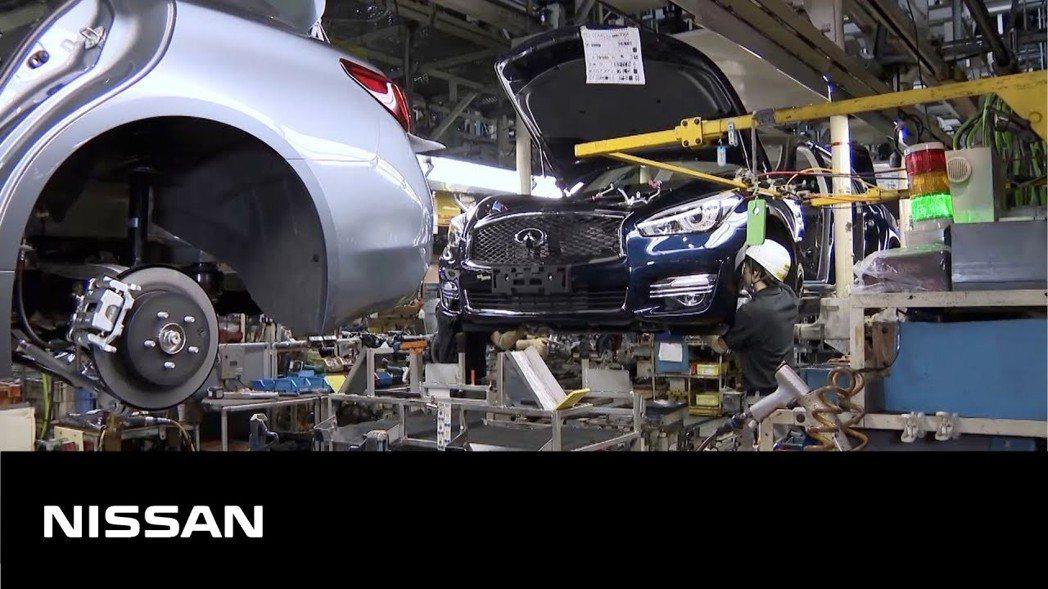 Nissan日本櫪木工廠。 摘自日産自動車株式会社
