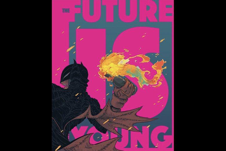 美國漫畫公司DC漫畫,日前發表一篇蝙蝠俠手持汽油彈準備拋投的漫畫,惹得中國愛國網民不開心。 圖/取自DC Twitter