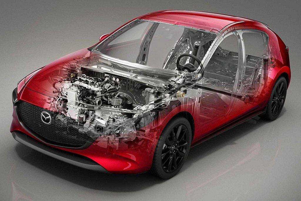 目前為止僅有4%的Mazda 3與2%的CX-30選擇了Skyactiv-X車型...