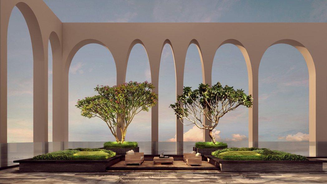 藝樹館的長項是把形態各自優美的樹,藉著空間造景的搭配,完美融於建築之中。 圖片提...