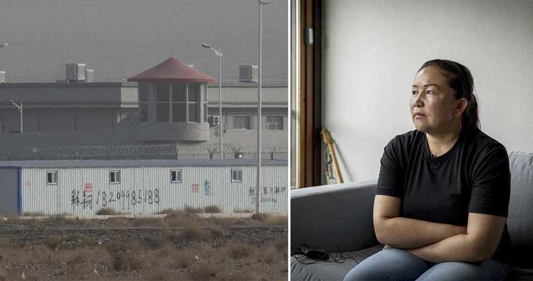 曾親身在新疆再教育營中任職、並出面出面揭露內幕的沙伊拉古麗。她的證詞後來也成為外...