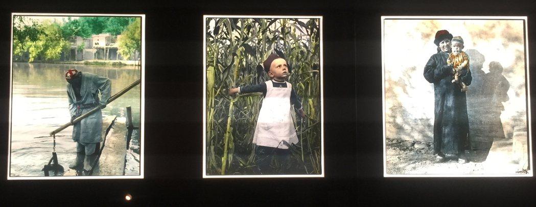 圖為瑞典宣教士John Törnquist於20世紀初攝於新疆南部的照片。 圖/...