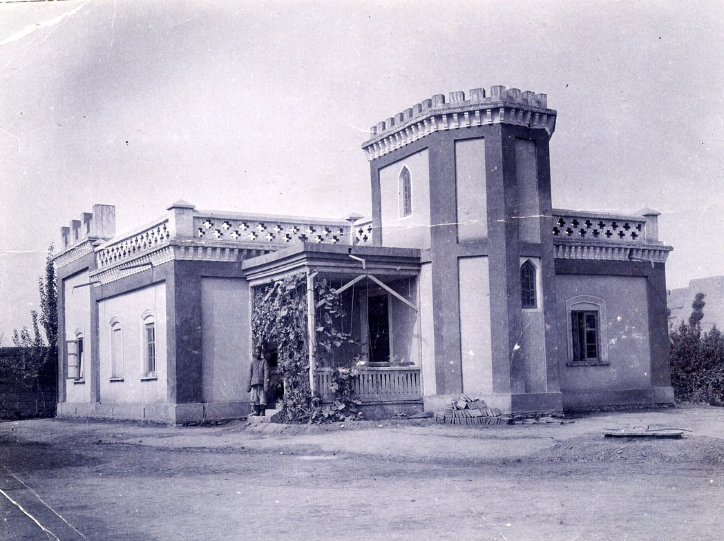 瑞典行道會在喀什建立的宣教站。那是個內亞「大博奕」的時代,長期在新疆南部耕耘、正...