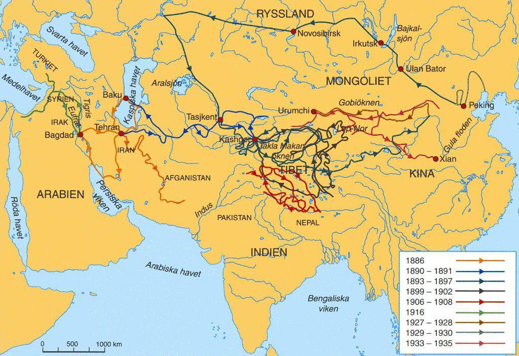 一如民族學博物館對當年斯文・赫定(Sven Hedin)的中亞探勘及宣教運動所下...