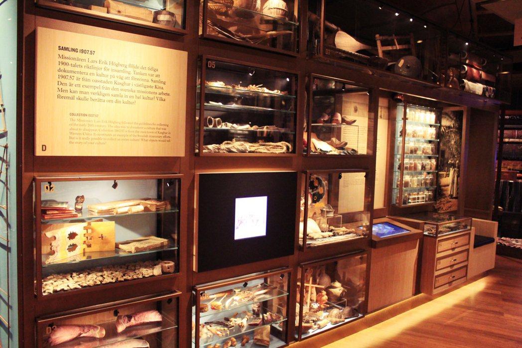 瑞典民族學博物館的常設展廳Magasinet內收藏。這批蒐藏是瑞典行道會總會邀請...