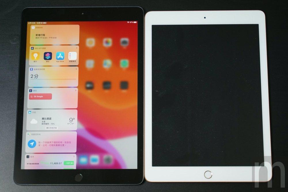 與2018年款iPad比較