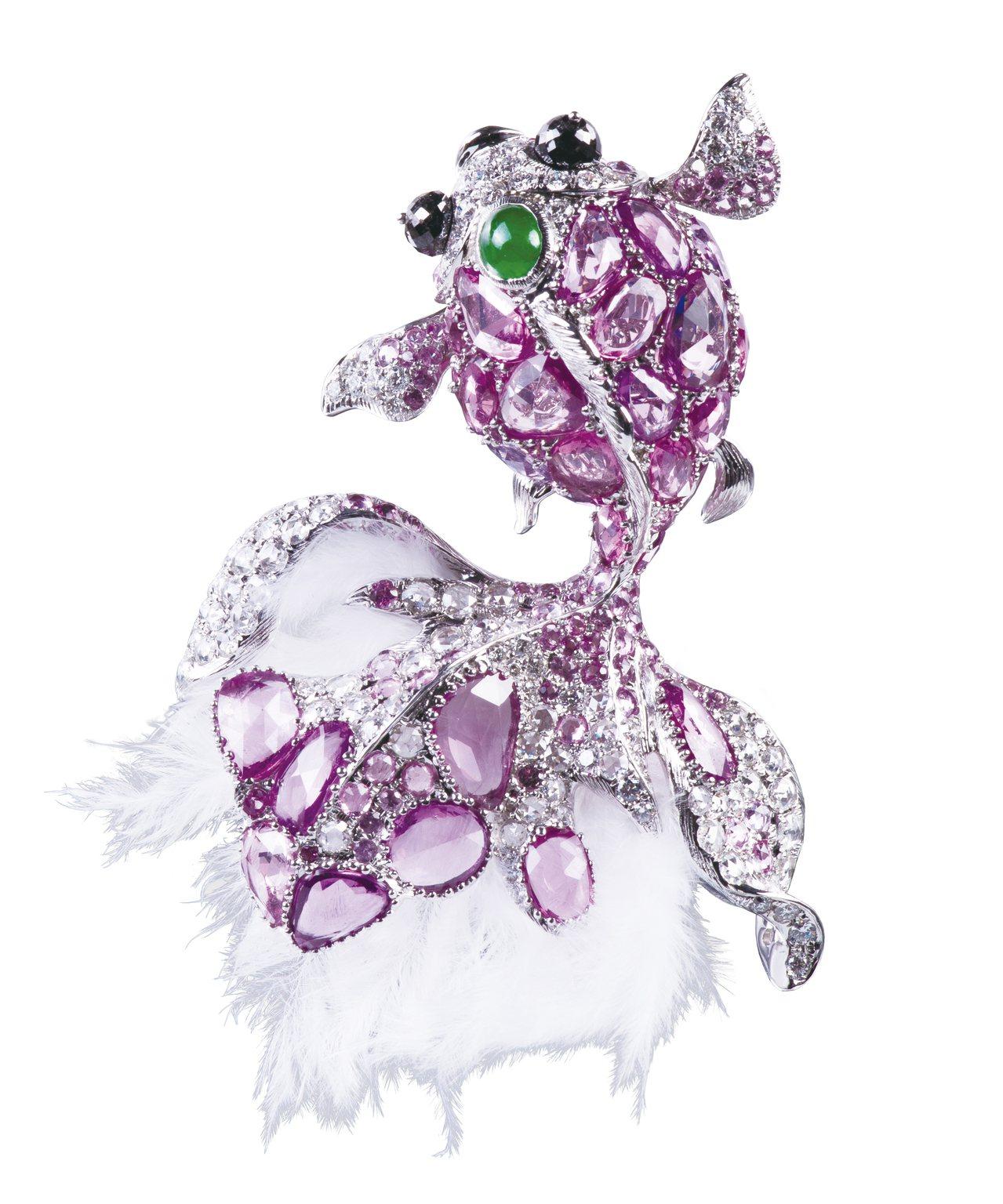 金獎【水格格】,台灣良和時尚珠寶。