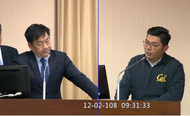 內政部次長陳宗彥答詢時表示,香港情勢轉變是事實,會與陸委會共同研商檢討港人申請移民來台要件。圖/翻攝立法院議事轉播畫面