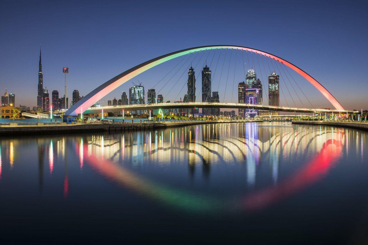 阿聯酋航空針對杜拜航線推出優惠,經濟艙2萬元起,含2晚住宿。圖/阿聯酋航空提供