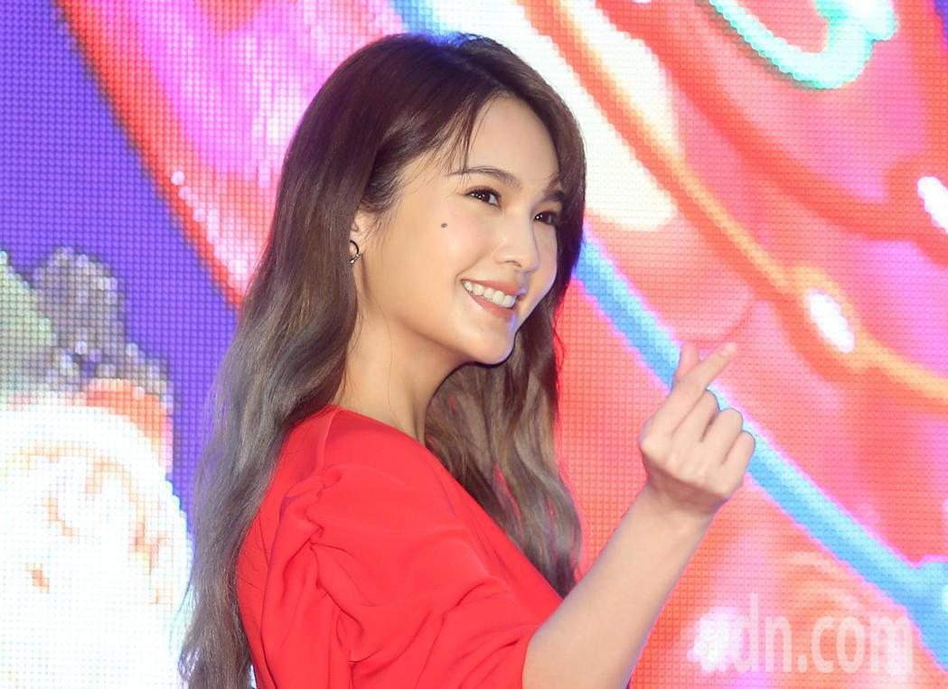 楊丞琳出席台北跨年晚會公布卡司記者會。記者余承翰/攝影