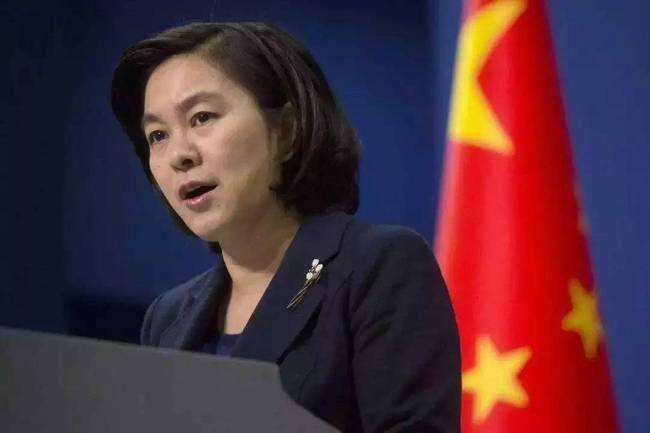 大陸外交部發言人華春瑩。大陸外交部官網