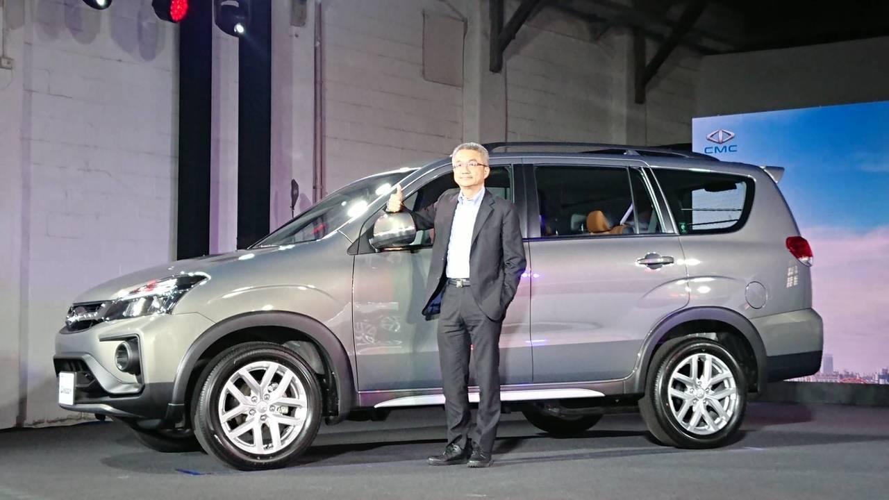 11月中華車含MITSUBISHI銷售為3847台居銷售第二名。記者黃淑惠/攝