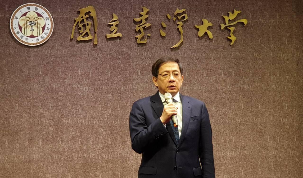 台大校長管中閔公開對外說明指出,總共有489名香港學生申請至台大訪問,其中有24...