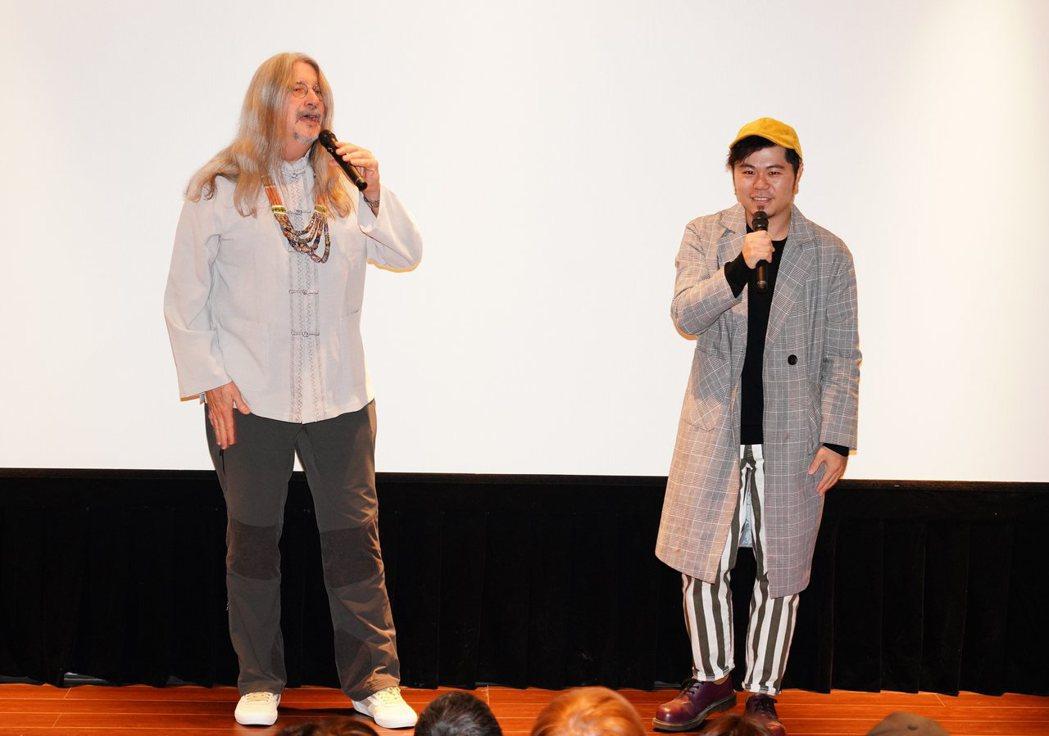 馬修連恩新專輯與許多台灣客家歌手合作,右為黃子軒。圖/新視紀整合行銷提供