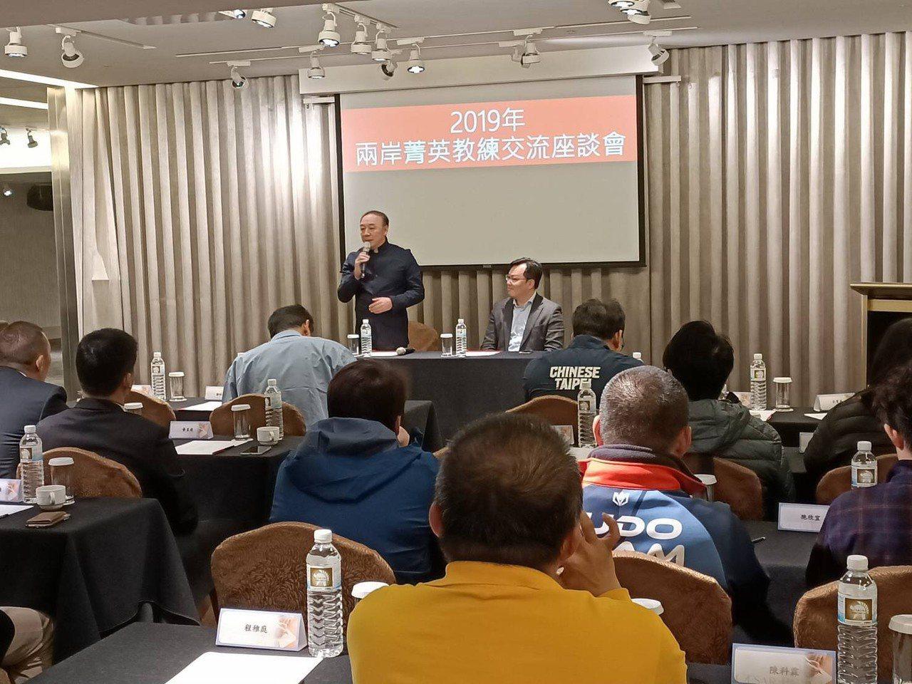 中國大陸金牌教練訪台,今舉行座談會。圖/中華奧會提供