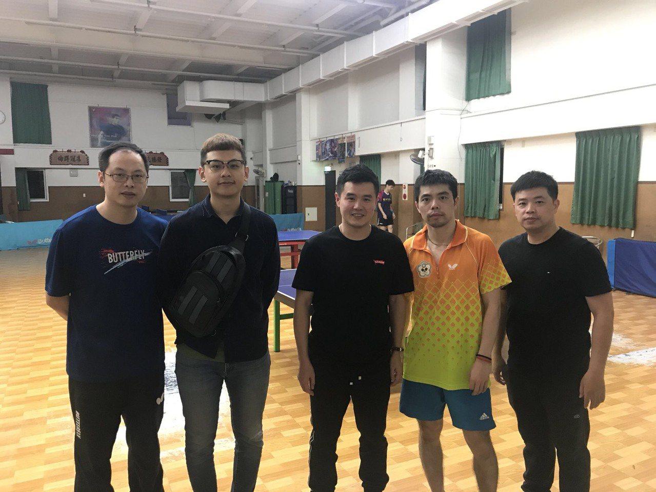 中國大陸金牌教練訪台。圖/中華奧會提供