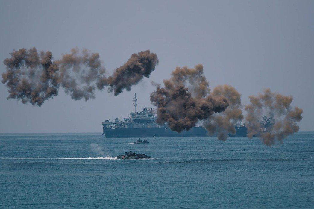 明年度起台美將首度合作,邀請美方派遣國防部各聯參、美軍太平洋印太司令部包括特戰、...