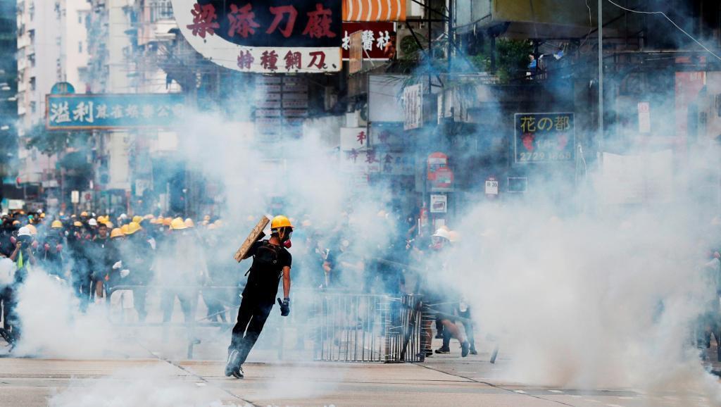 香港反送中運動。路透社