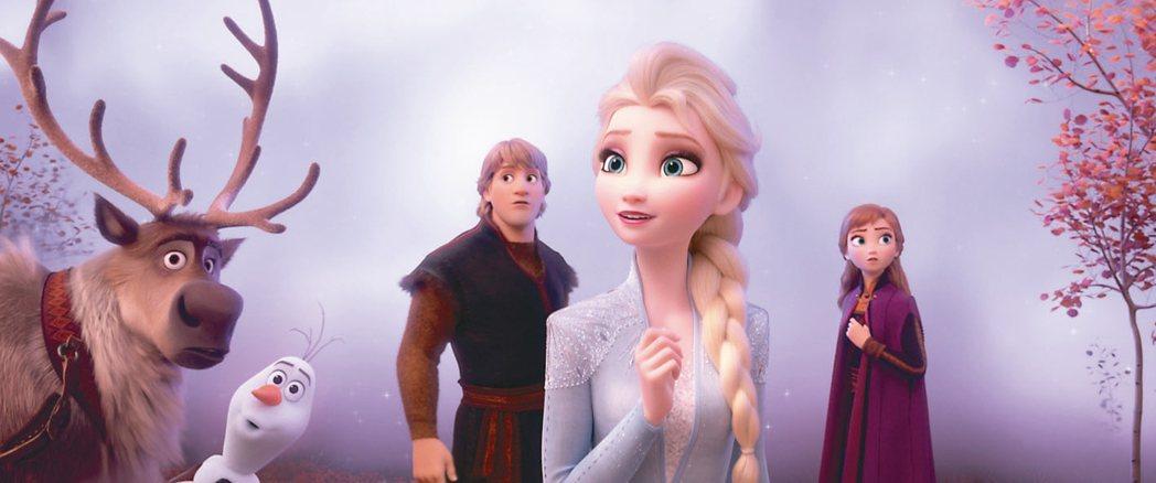 「冰雪奇緣2」全球熱賣,已破新台幣220億。 圖/迪士尼提供
