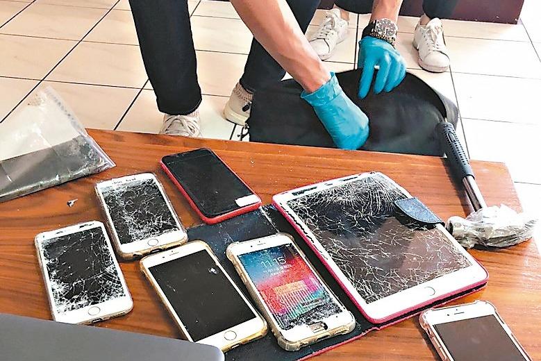沙魚返鄉…詐團被逮狠敲手機滅證