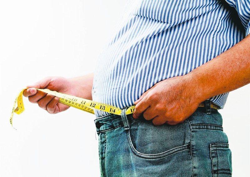 腹部過於肥胖,易增加罹患心血管等疾病。 圖/聯合報系資料照片