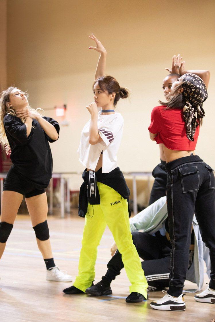 蔡依林近來專心在LA練舞。 圖/凌時差提供