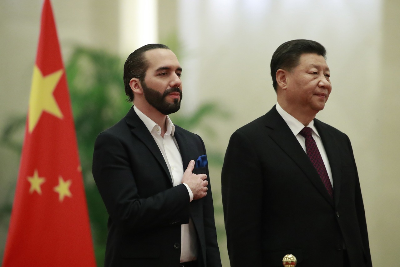 去年與我斷交 薩爾瓦多總統:支持中國實現和平統一