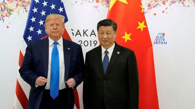 美國總統川普(左)與中國大陸國家主席習近平都想達成一項暫時性貿易協議,以緩解各自...