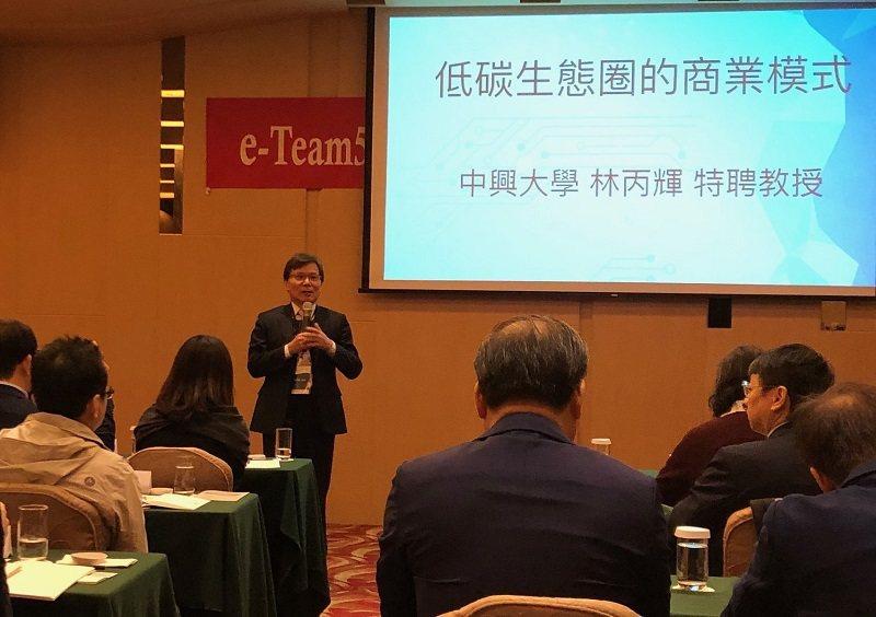 中興大學特聘教授林丙輝。 蔣佳璘/攝影