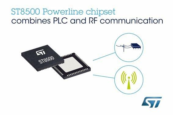 經過市場檢驗的意法半導體智慧電表晶片組新增無線通訊功能以提升智慧基礎建設的彈性和...