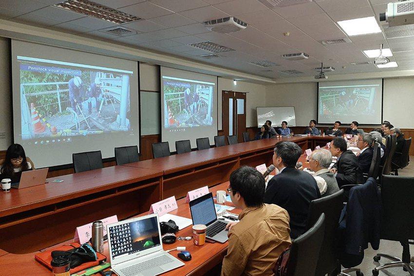 與會人員聽取日方專家簡報。 中興工程科技研究發展基金會/提供