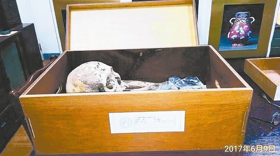 2017年發生花蓮馬遠部落布農族遺骸爭議,台大答應返還60年前為了做研究而挖掘的...