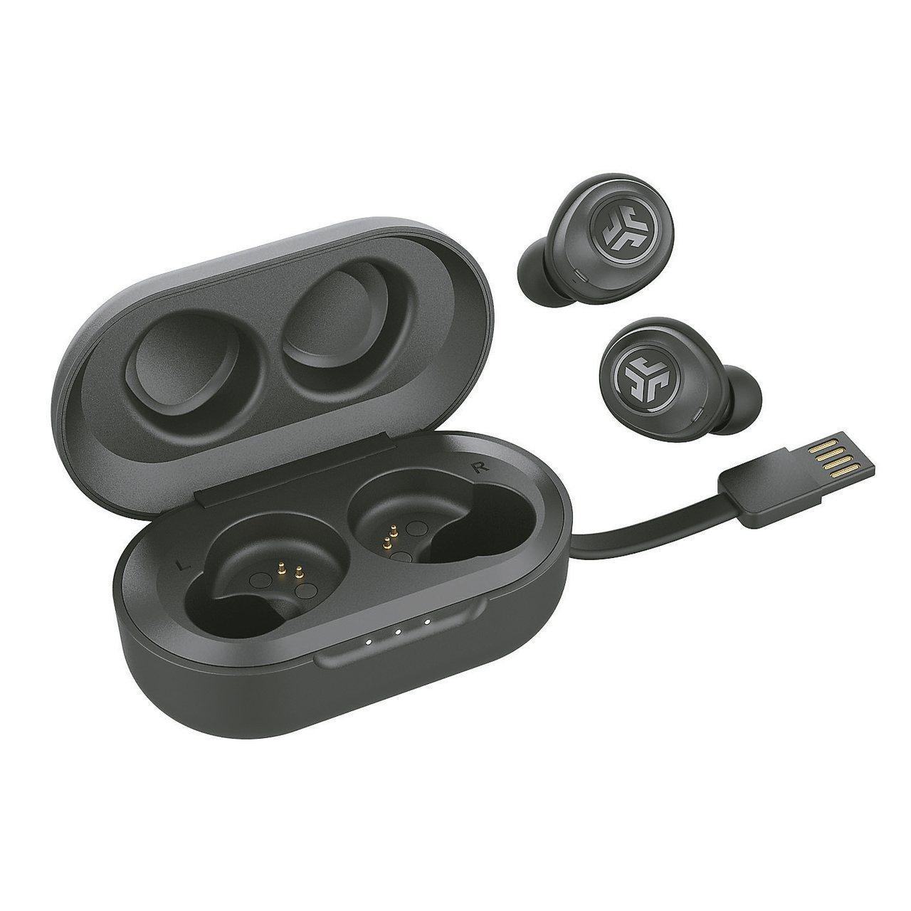 真藍牙無線耳機買氣爆棚,圖為新興品牌產品平JLab JBuds Air。 圖/u...