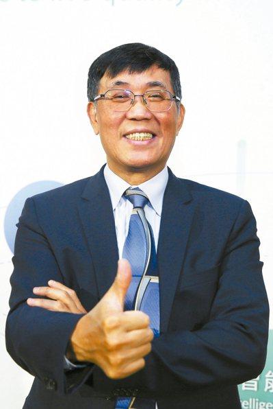 緯創技術長暨緯創醫學總經理黃俊東。 記者蘇健忠/攝影
