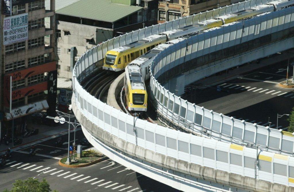 新北捷運環狀線。圖/聯合報系資料照片