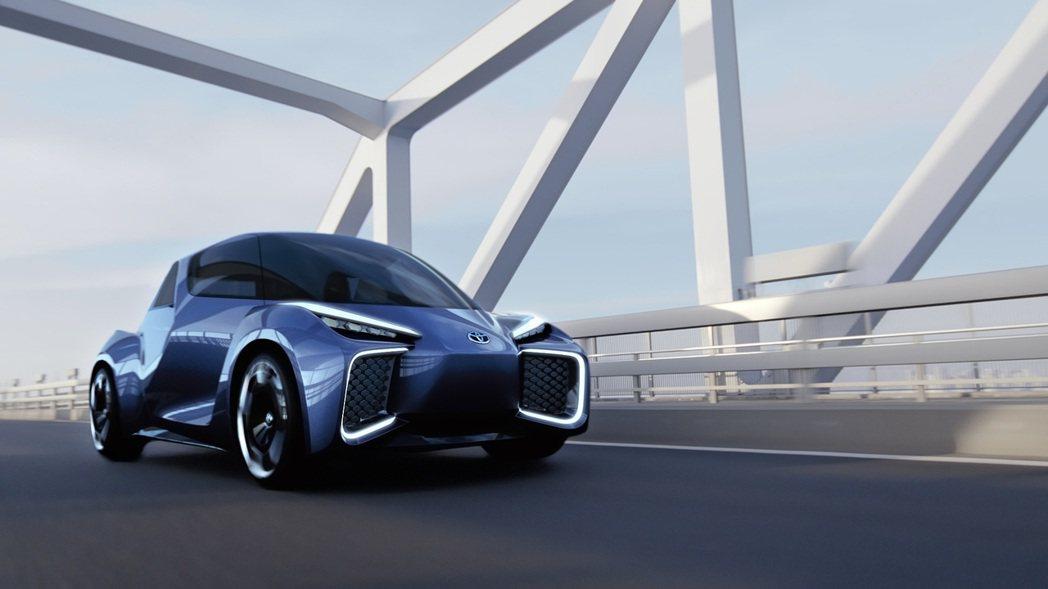 TOYOTA將展出未來都會純電動概念車TOYOTA RHOMBUS Concep...