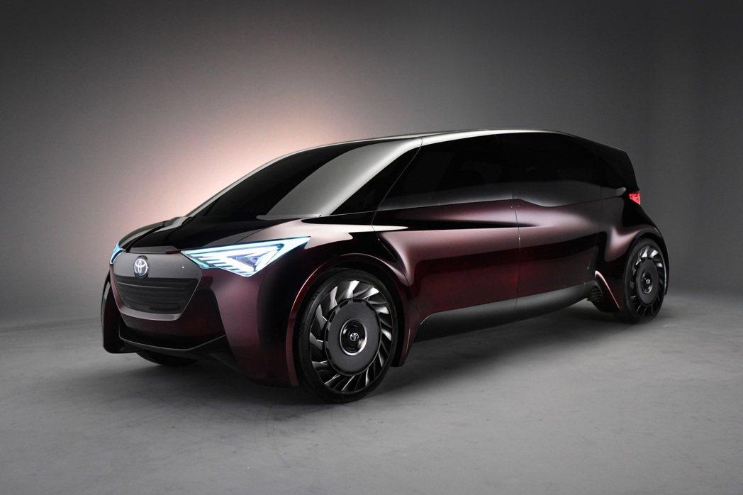 TOYOTA將展出自動駕駛氫燃料電池車TOYOTA FINE-Comfort R...