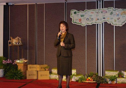 君達集團董事長尹純綢表示,去年成功串連在地有機小農,品牌策略與綠色平台的經濟模式...
